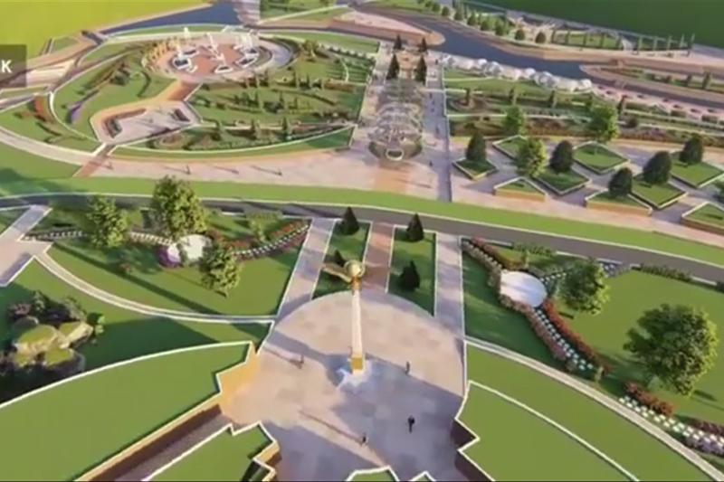 Акимат Шымкента на видео показал, как будет выглядеть Старый город