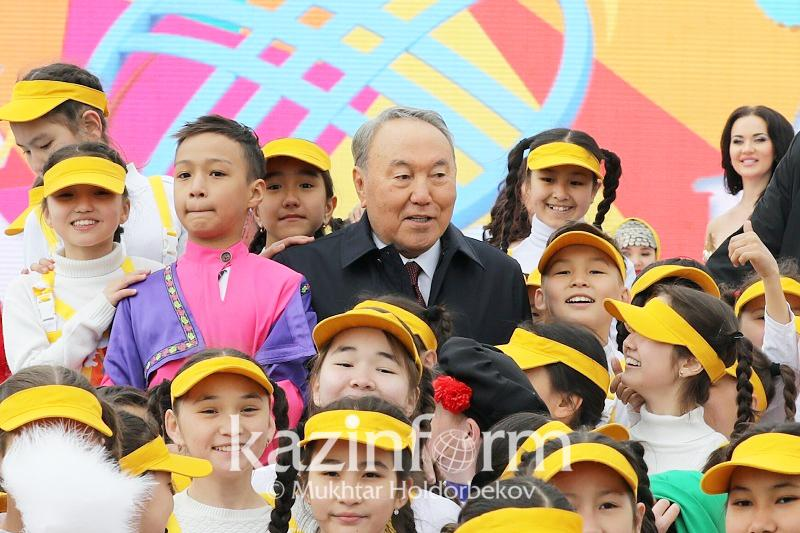 Нурсултан Назарбаев - казахстанцам: Давайте беречь наше счастье!