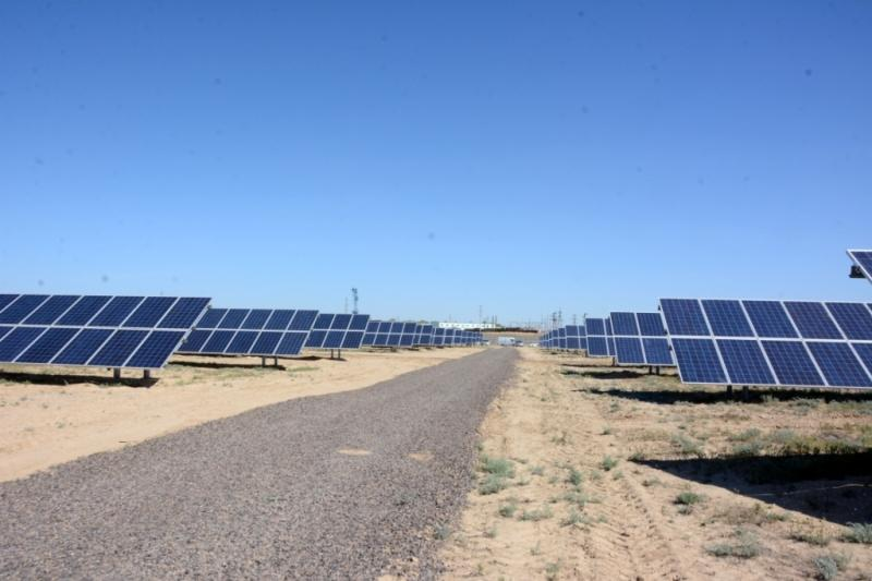 1st solar electric plant installed in W Kazakhstan