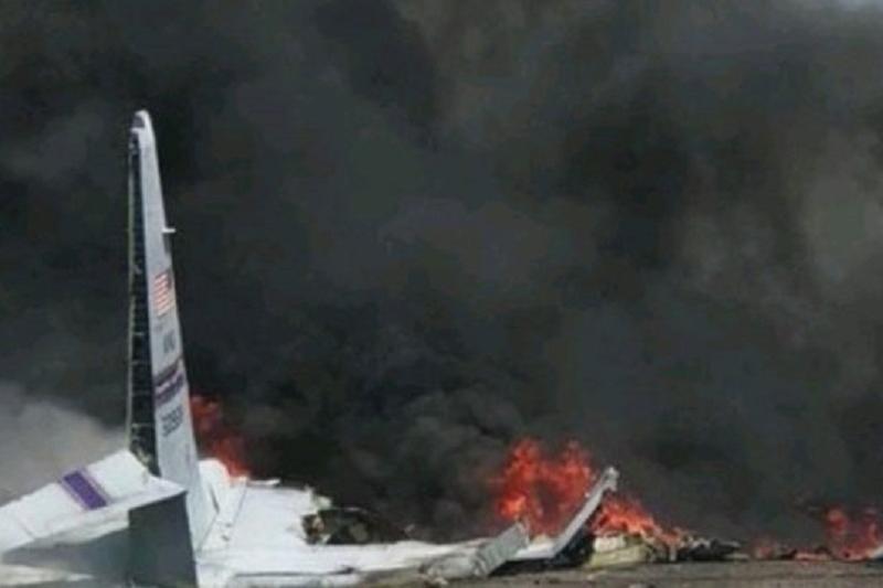 Крушение военного самолета в США: погибли 9 человек