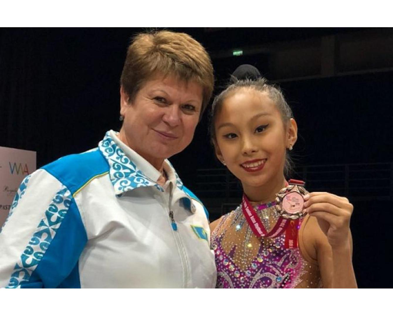 Қазақстандық гимнаст қыздар Азия чемпионатында 17 медаль алды