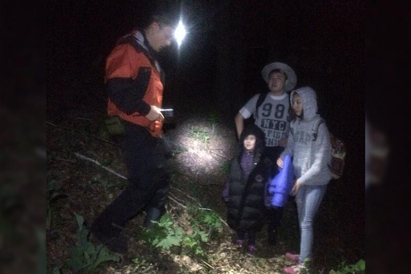 Пропавшую семью в горах Кокжайляу нашли спасатели