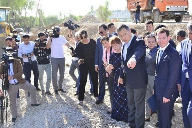 На берегу реки Кошкар-ата в Шымкенте появится жилой комплекс