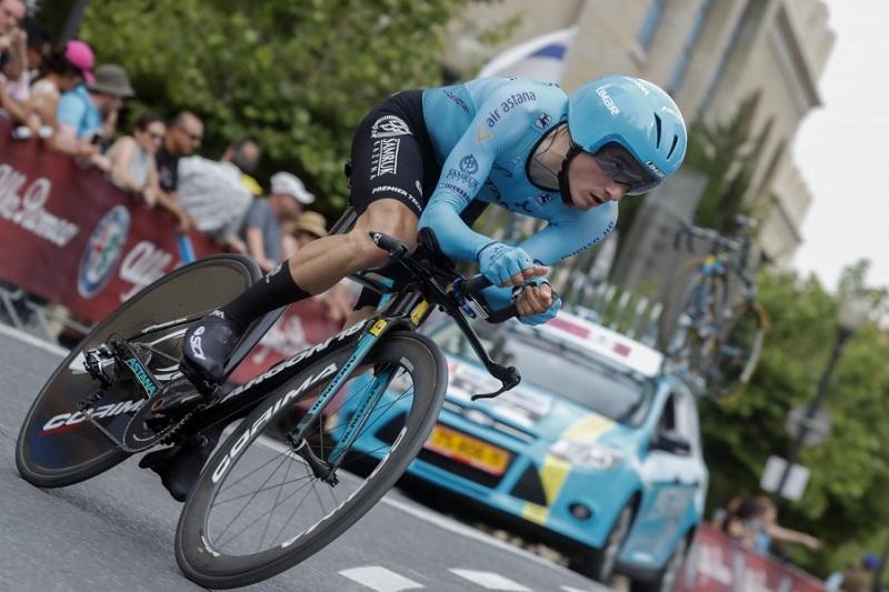 阿斯塔纳车队车手在环意自行车赛第一赛段获得第六名