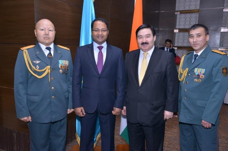 New Delhi celebrates Kazakhstan's Armed Forces Day