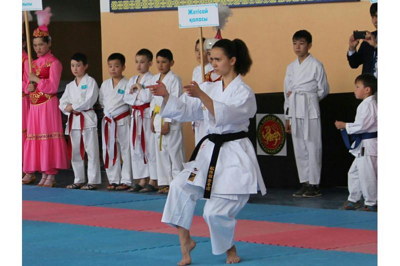 Как тренировать волю к победе, рассказала 16-летняя каратистка из ЮКО