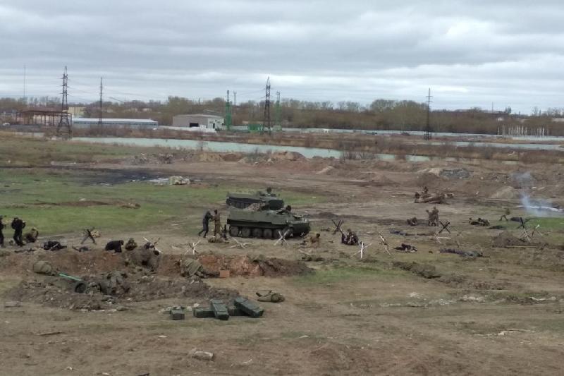 Более 200 карагандинцев приняли участие в военно-исторической реконструкции