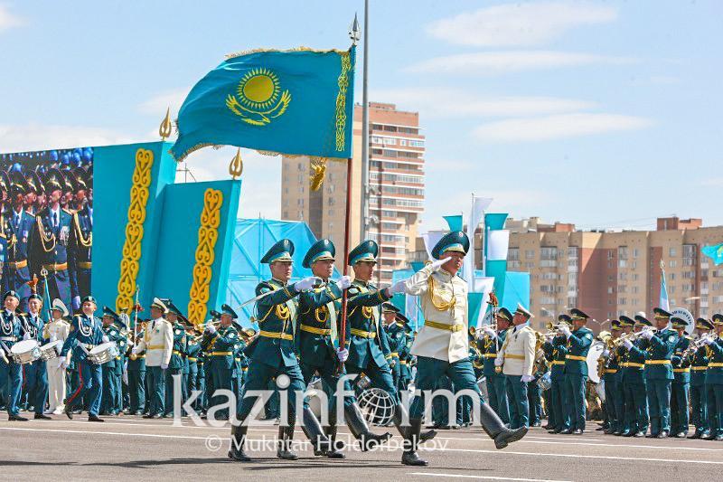 Kazakhstan celebrates Defender's Day