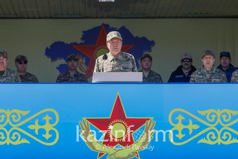 Kazakh Army safeguards the country's independence, Nazarbayev