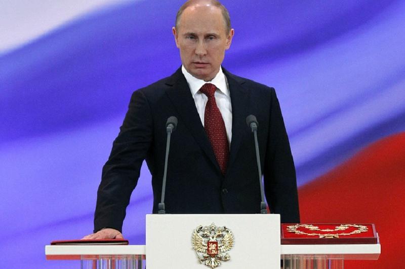 РФ президентін ұлықтау рәсімі: Путин Ресей халқына ант берді
