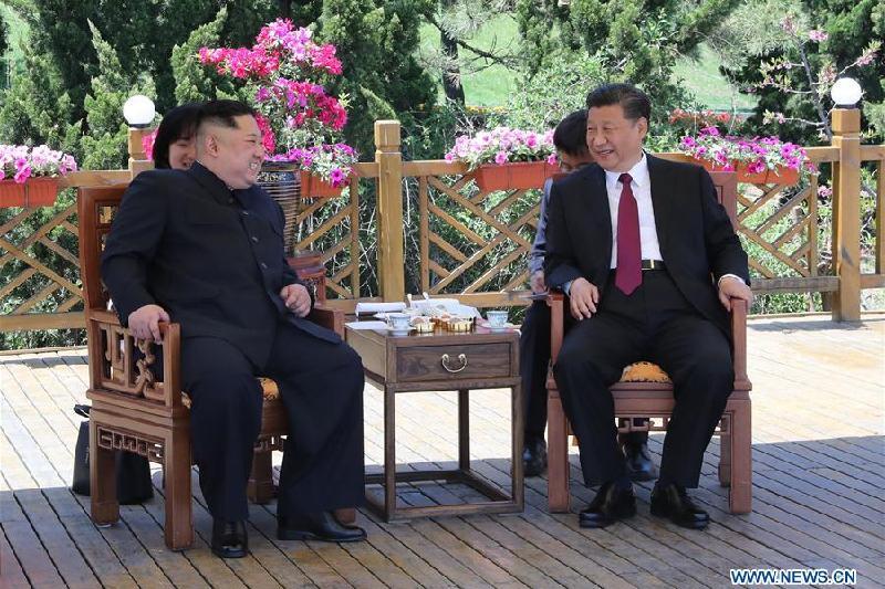 Си Цзиньпин и Ким Чен Ын провели переговоры в Китае