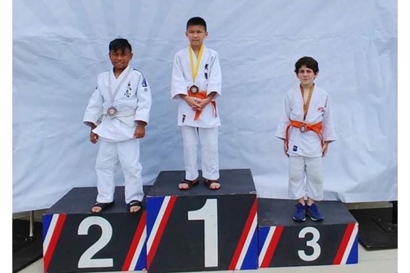 Kazakh young judokas grab gold at 2018 Nanka Spring Tournament
