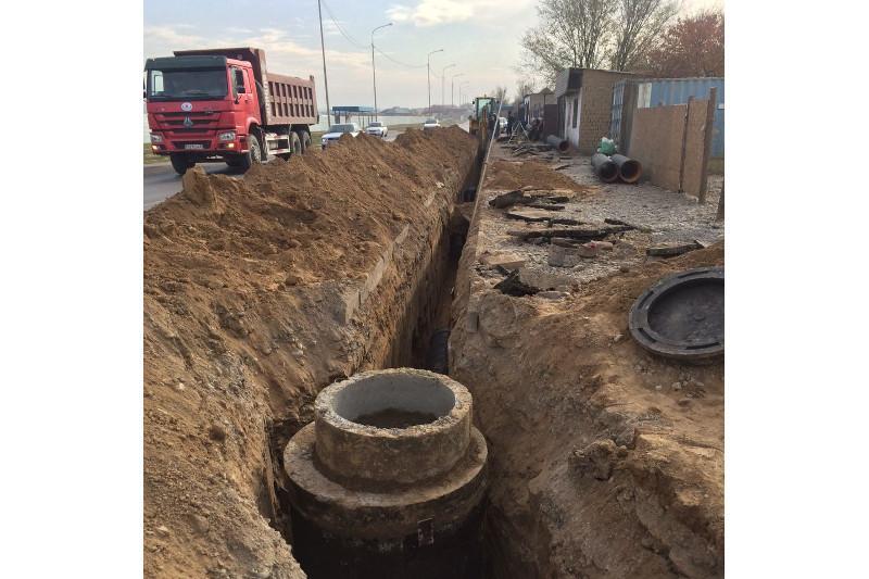 Более 5 тысяч домов подключат к центральной канализации в Шымкенте