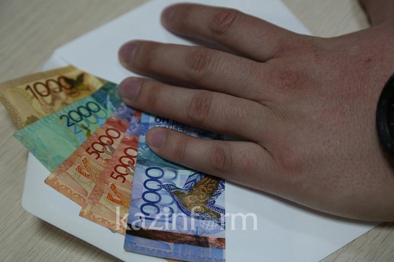 2,6 миллиона тенге заработали жамбылцы, сообщив о взятках