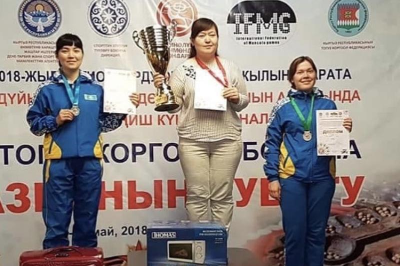 Южноказахстанки с триумфом выступили на Кубке Азии по тогызкумалак