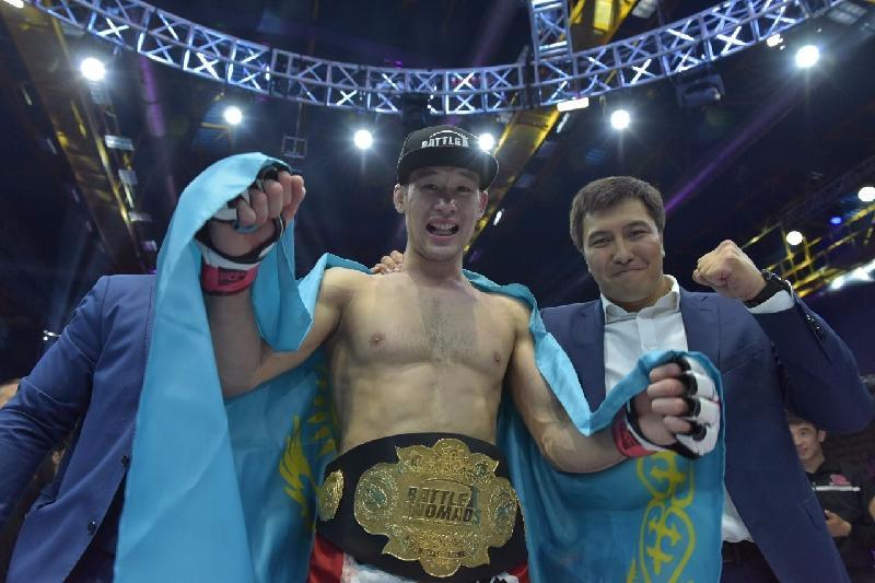 Астанадағы ММА турнирінде екі қазақстандық чемпион атанды