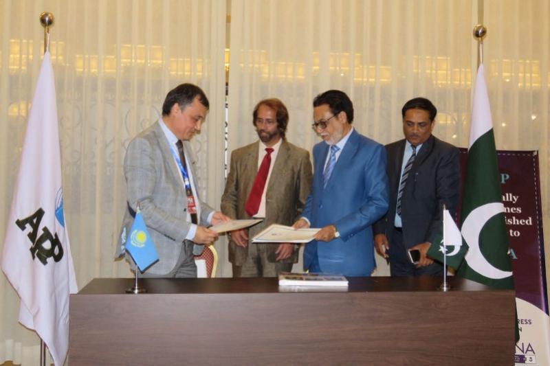 МИА «Казинформ» и пакистанское агентство APP подписали меморандум о сотрудничестве
