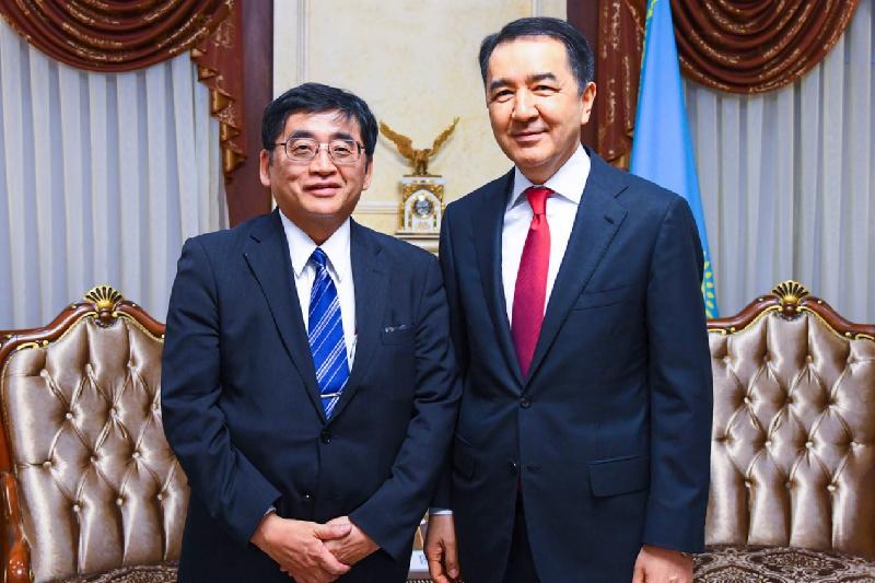 Kazakh PM meets OECD Deputy Secretary-General