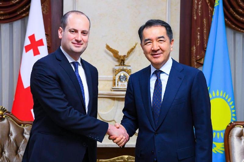 哈萨克斯坦与格鲁吉亚外长谈论两国合作前景