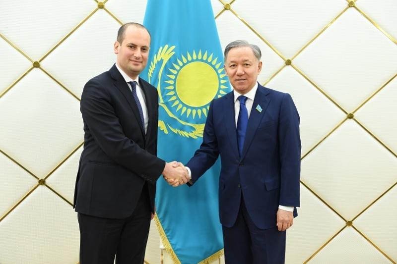 马吉利斯议长会见格鲁吉亚副总理