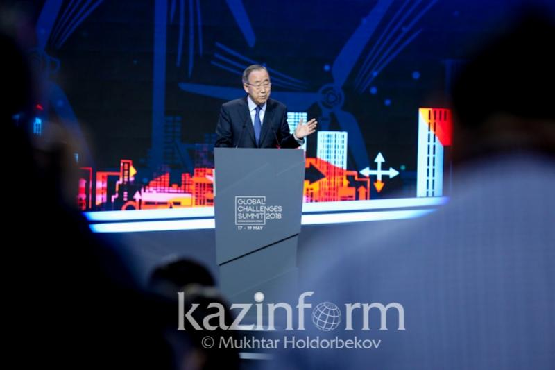 Kazakhstan takes lead in striving for green economy, Ban Ki-moon