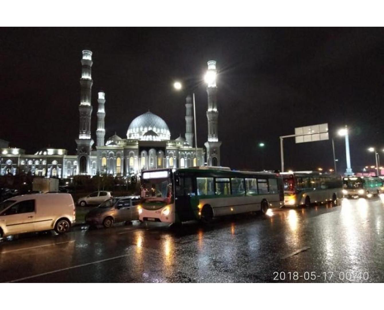 Рамазан айында Астана мешіттеріне автобустар тегін қатынайды