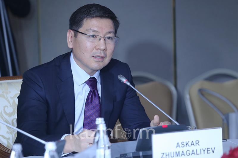 Аскар Жумагалиев озвучил основные приоритеты деятельности МОАП РК