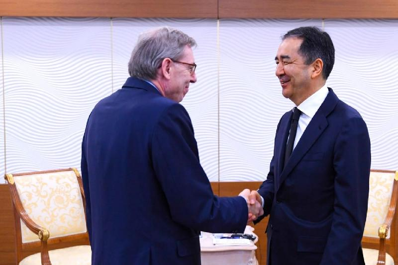 Kazakh PM, Boston Consulting Group Chairman discuss coop issues