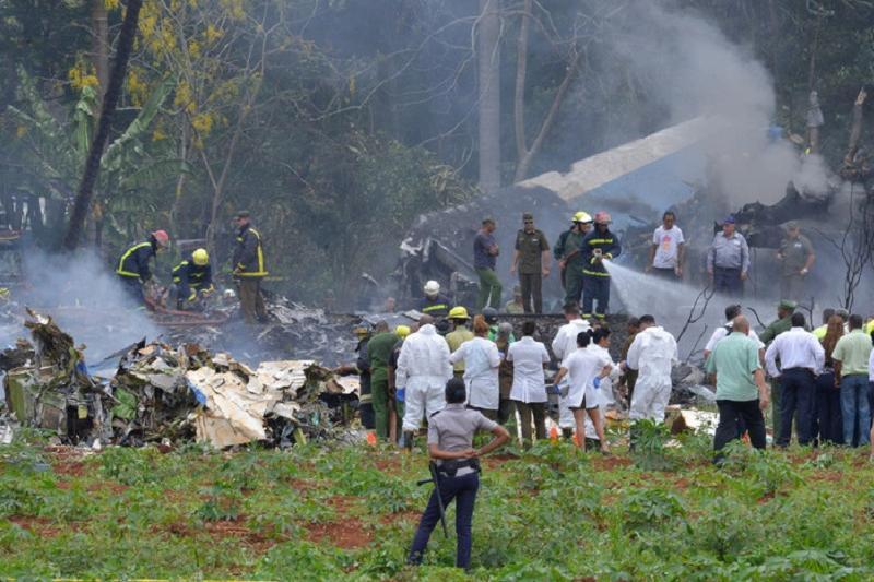 На Кубе объявлен национальный траур по жертвам авиакатастрофы