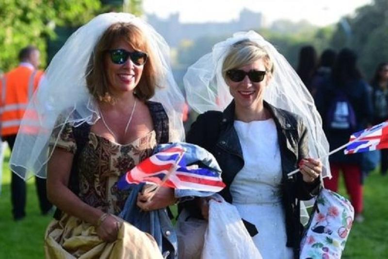 Великобритания в ожидании королевской свадьбы принца Гарри и Меган Маркл