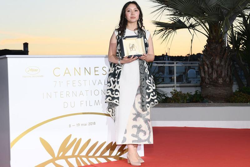 Kazakhstan's Samal Yeslyamova wins Cannes Best Actress Award