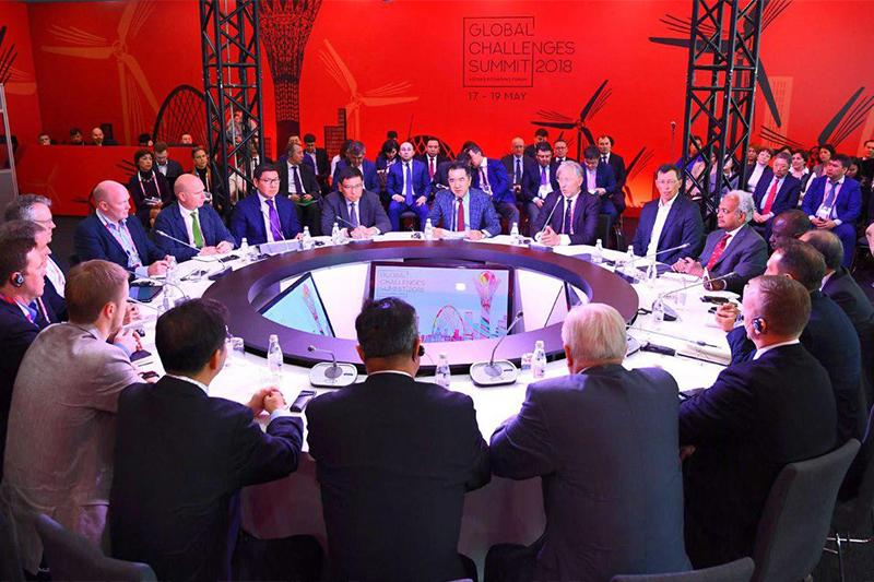 Global Challenges Summit Strategic Session held n Astana