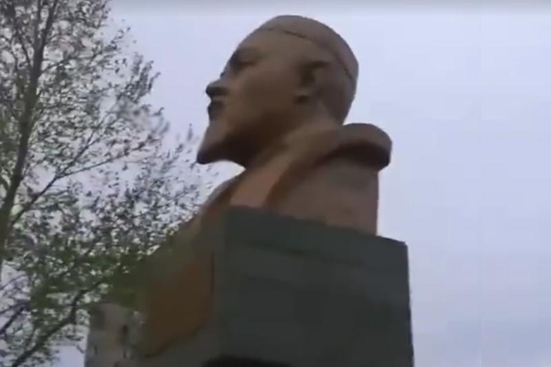 Лениннен аумай қалған Абай ескерткіші: Степногорск әкімі түсінік берді