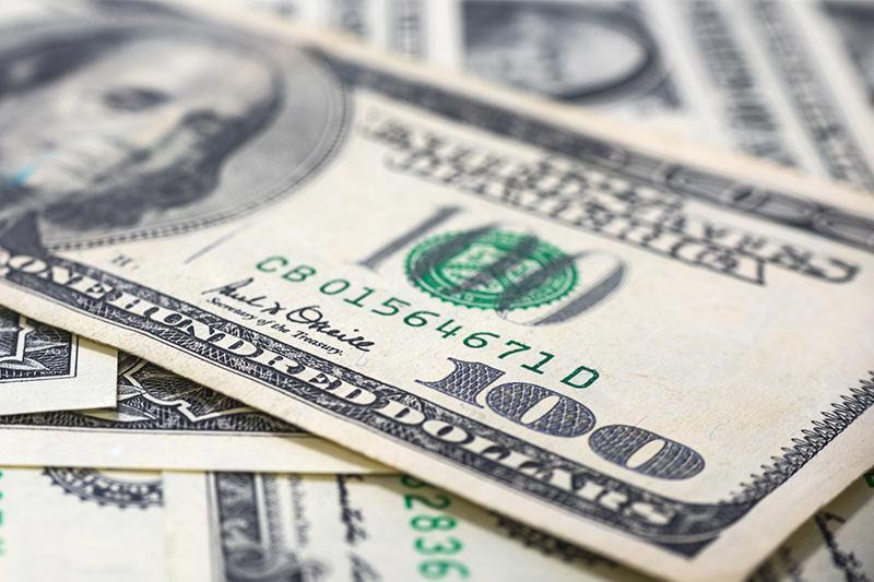 今日美元兑坚戈终盘汇率1:379.75