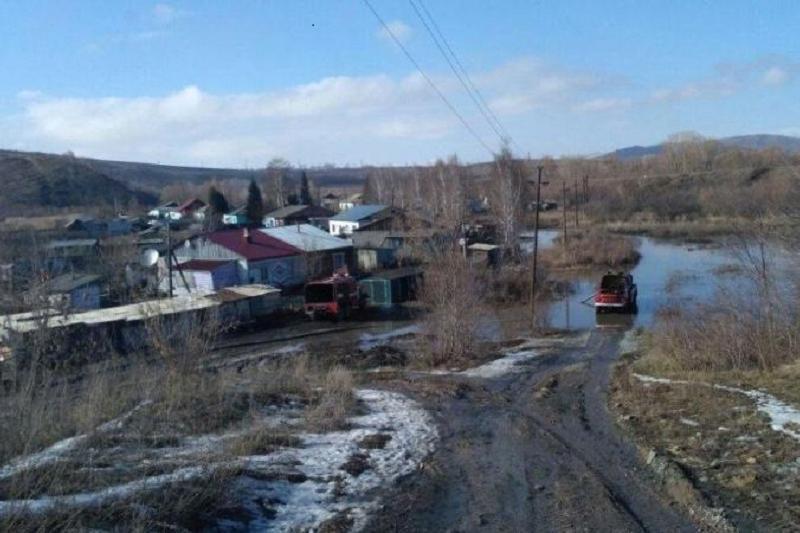 Режим ЧС могут ввести в Павлодаре из-за подтопленных домов