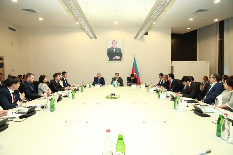 Бизнесмены Казахстана и Азербайджана обсудили сотрудничество