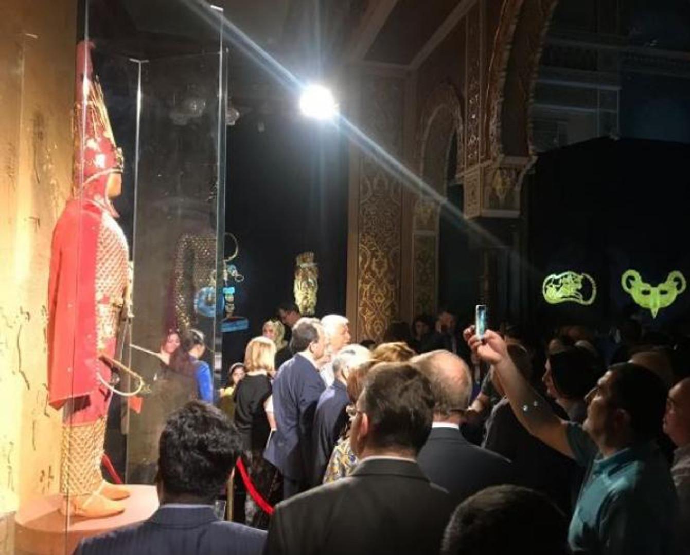 «Алтын адамның әлем музейлеріне шеруі» Бакуге келді