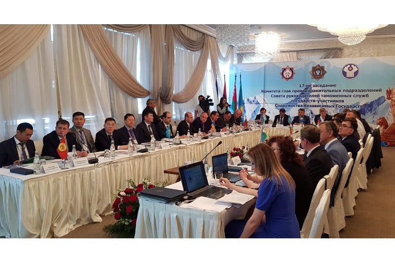 CIS customs services debated drug traffic control in Almaty