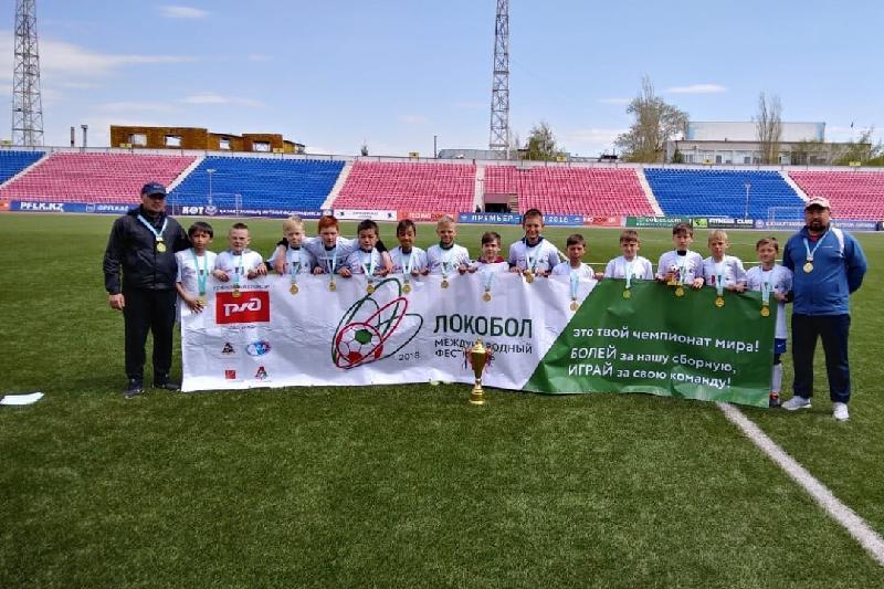 Юные карагандинские футболисты вышли в финал международного турнира