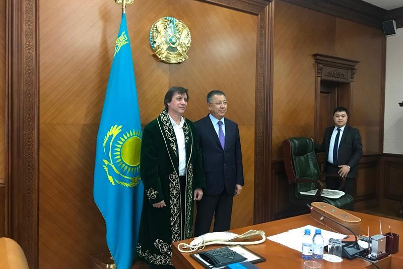 Сергей Дворцевой планирует снять фильм в Казахстане