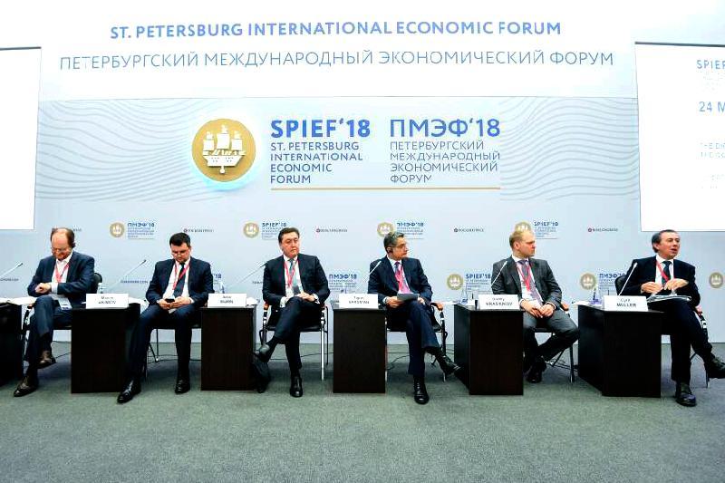 Асқар Мамин Петербург халықаралық экономикалық форумына қатысты