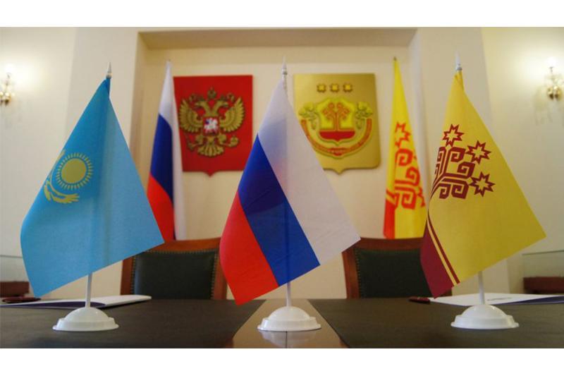 Центр казахстанской литературы и культуры открылся в Чувашской Республике