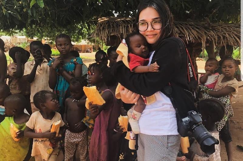 280 африканских семей накормила учитель из Павлодара с друзьями