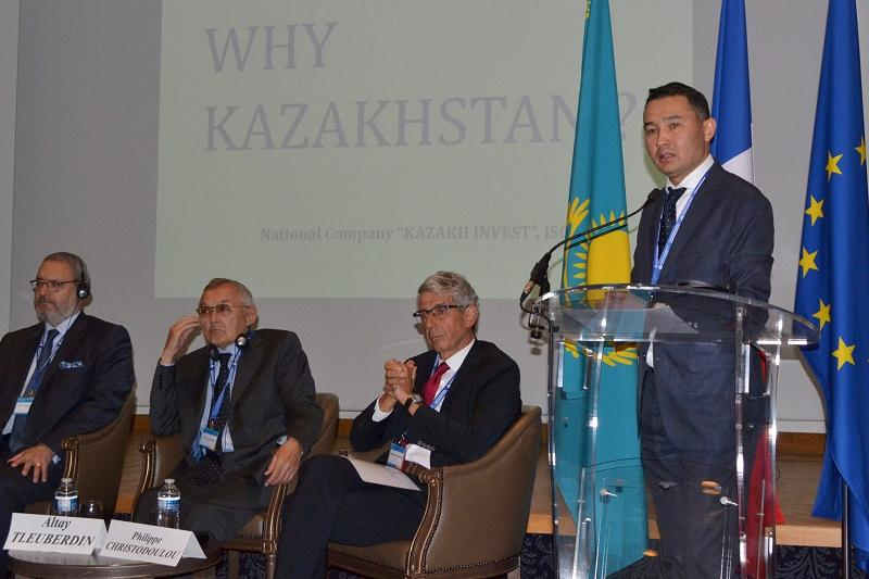 I Kazakh-French Investment Forum held in Paris