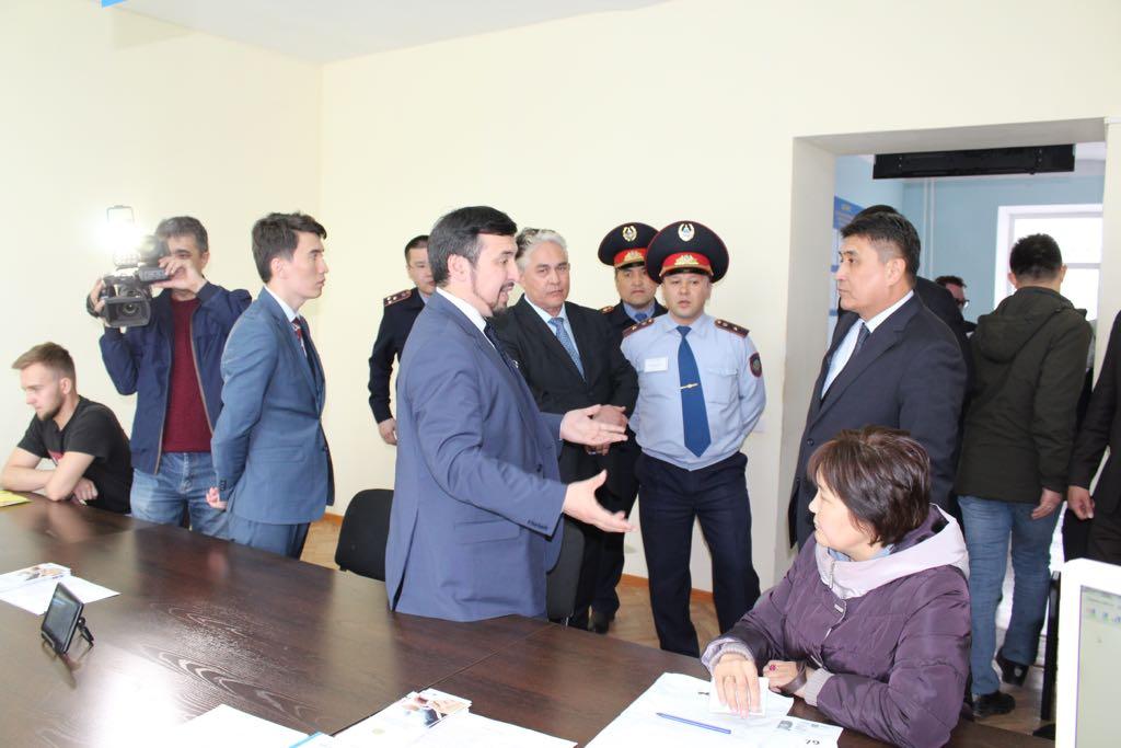Спецмониторинговая группа АДГСПК посетила Карагандинскую область