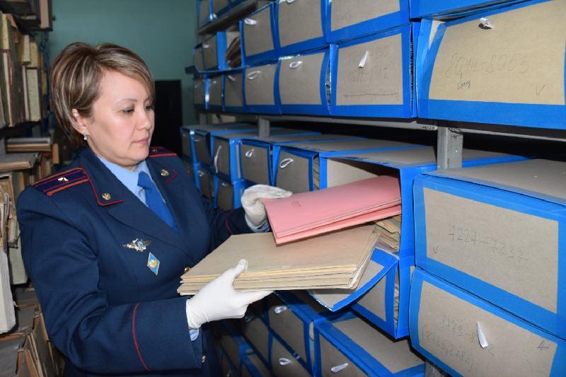 Около 60 тысяч документов репрессированных хранится в архиве в Акмолинской области
