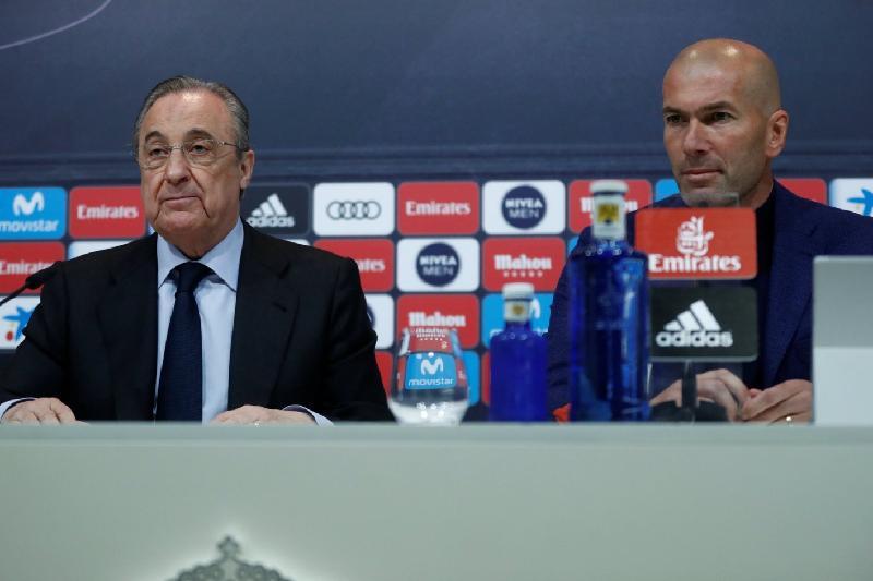 «Реал Мадрид» бас бапкері Зинедин Зидан қызметінен кетті
