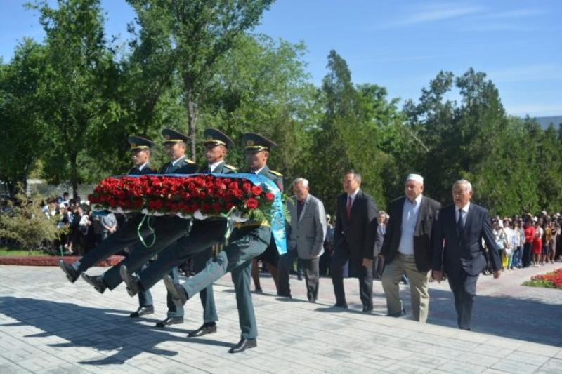 В Таразе почтили память жертв политических репрессий