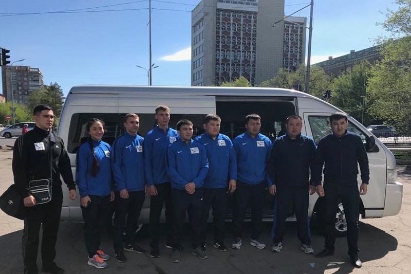 Спортивный караван стартовал по Карагандинской области