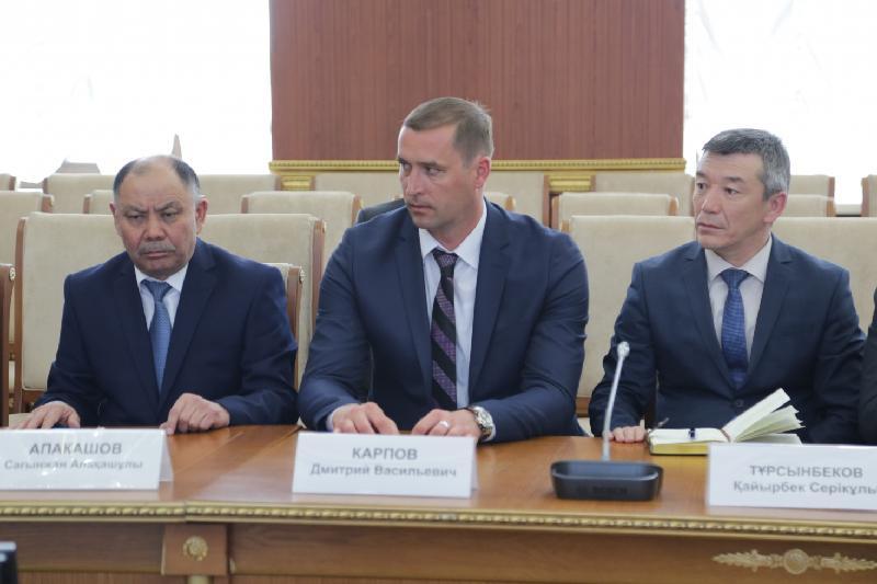 Аким Карагандинской области назначил глав трех управлений